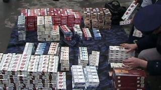 Milioane de ţigarete de contrabandă găsite de Autoritatea vamală în ultimul an