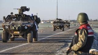 Doi militari turci au dispărut în Siria