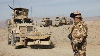 Militar ranit în Afganistan