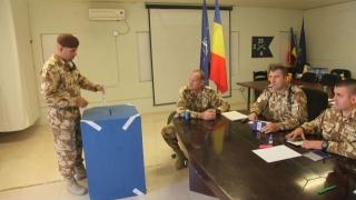 Militarii români din Afganistan au la dispoziție trei secții de votare