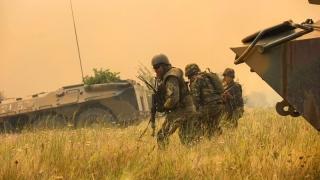 Militarii constănțeni se pregătesc pentru război în Georgia
