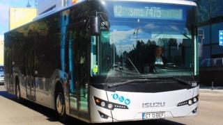 Minibuze pentru transportul în comun, la Constanța