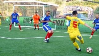 Două partide amicale de minifotbal între România şi Bulgaria
