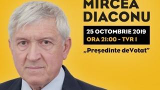 Președinte deVotat, cu Mircea Diaconu, la TVR1