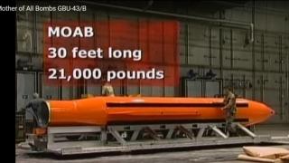 MAMA TUTUROR BOMBELOR, în Afganistan. Cum arată colosul de 10 tone