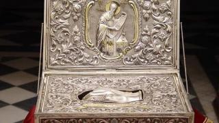 Moaștele Sfântului Andrei sosesc la Constanța