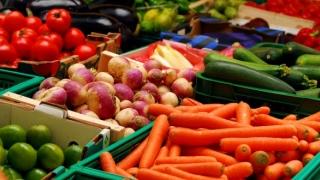 Fructe şi legume proaspete în noul an şcolar: mere, pere, morcov, păstârnac, ţelină, sfeclă roşie sau ardei gras