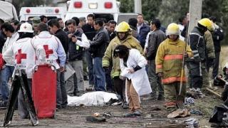Cel puțin 12 morți și zeci de răniți într-o explozie produsă la o piață de artificii din Mexic