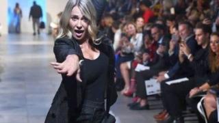 Nadia Comăneci a făcut senzație la New York Fashion Week
