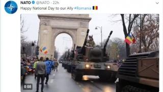 NATO felicită România pentru Ziua Națională pe twitter
