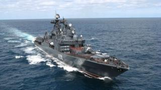 Navă militară rusă, scufundată în Marea Neagră în urma unei coliziuni