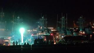 ALERTĂ! Navă în flăcări în Portul Constanța!