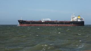 O navă cu motorină provenită din SUA, în drum spre Portul Constanța