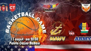 Baschet inedit. US Navy vs. US Army, la Mamaia