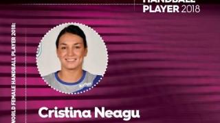 Cristina Neagu a fost aleasă cea mai valoroasă handbalistă din lume în 2018