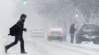 Mama Natură s-a înfuriat din nou! Viscol, vijelii și frig în toată țara