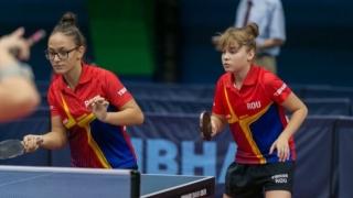 """Cadeta constănţeană Elena Zaharia, """"prinţesa"""" Europenelor de tenis de masă"""