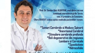 Reputat neurochirurg din Turcia vine la Constanţa