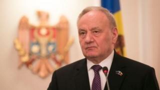 Președintele Nicolae Timfoti a adus un ultim omagiu la catafalcul Reginei Ana