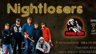 Blues ardelenesc cu Nightlosers la Doors Club