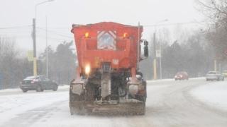Ninge viscolit în județul Constanța. Vezi ce drumuri sunt cu probleme!