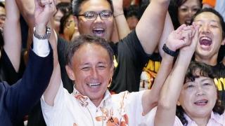 Noul guvernator al Okinawa, împotriva construirii unei baze militare a SUA