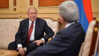 Noul preşedinte al Armeniei are acelaşi nume ca şi predecesorul