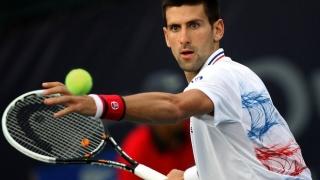 Novak Djokovic poate rata meciul de Cupa Davis cu Kazahstanul din cauza conjunctivitei