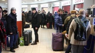 Numărul trenurilor a fost redus. Cum se circulă pe calea ferată la Constanța