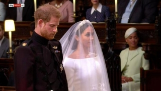 Prinţul Harry, impresionat până la lacrimi de frumusețea miresei sale