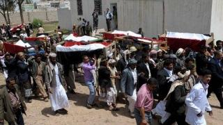 Nuntă transformată în înmormântare! Zeci de oameni, uciși într-un bombardament