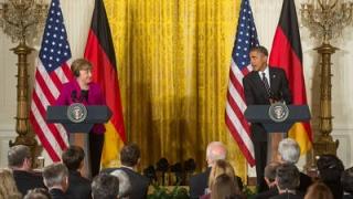 Barack Obama și-a început ultima vizită în Germania în calitate de președinte al SUA
