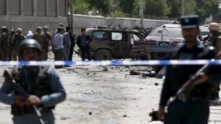 Explozie puternică la Kabul, în apropierea ambasadelor străine