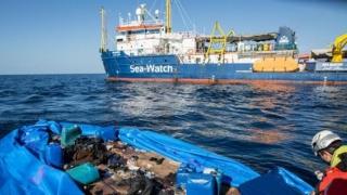 Olanda a refuzat să accepte 47 de migranţi de pe nava umanitară Sea Watch 3