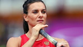 Elena Isinbaeva va candida la preşedinţia Federaţiei de Atletism din Rusia