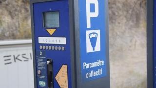 Parcarea din zona Tribunalului Constanța se plătește. Măcar se poate și cash