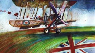 O tânără din Constanţa cucerește Londra cu un avion din Primul Război Mondial