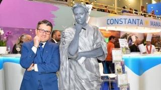 Ovidius a făcut reclamă Constanţei la Târgul de Turism al României