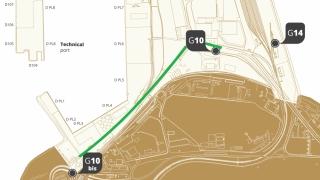Drumul dintre Poarta 10 bis și Poarta 10 din incinta Port Constanța, se va extinde la 4 benzi