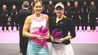 Laura Ioana Paar, la primul trofeu WTA din carieră