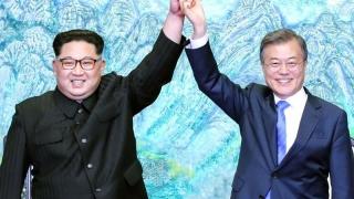 Pace şi înţelegere la nivel înalt între cele două Corei! S-au apucat să-şi demineze frontiera!
