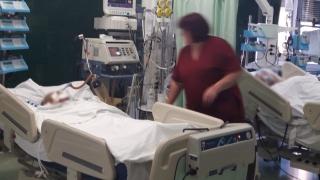 Pacientul ars transferat în Bulgaria a murit!