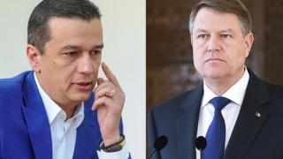 """Premierul Sorin Grindeanu neagă existența unui """"pact de coabitare"""" cu președintele Iohannis"""