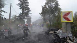 Cinci tiruri au luat foc. Pagube de zeci de mii de euro