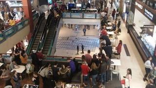 Momente de panică la City Mall! Un tavan s-a prăbușit!