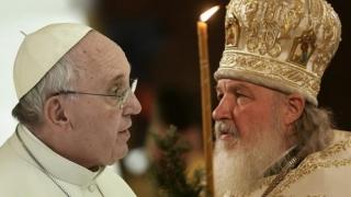 Papa Francisc și Patriarhului Bisericii Ortodoxe Ruse, Kirill, au semnat o declarație comună
