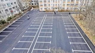 100 de noi locuri de parcare au fost amenajate în Constanța, pe strada Badea Cârțan