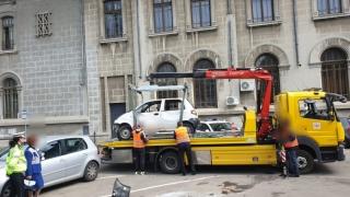 Șoferii care pachează pe unde apucă n-au scăpat de polițiștii locali