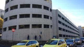 Parcarea supraetajată din zona Spitalului Județean Constanța este funcțională