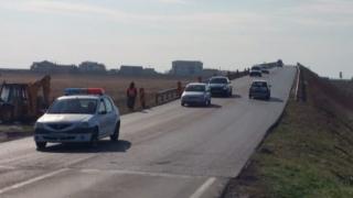 S-a reluat traficul normal la pasajul rutier Cumpăna